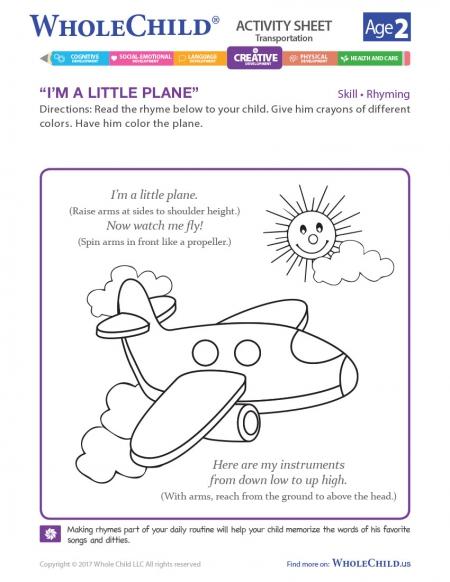 I'm A Little Plane