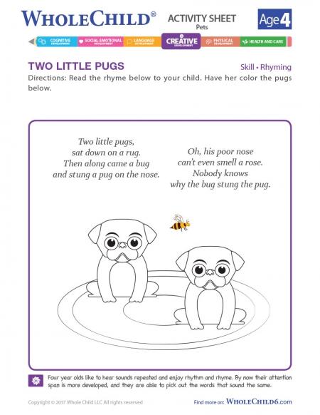 Two Little Pugs