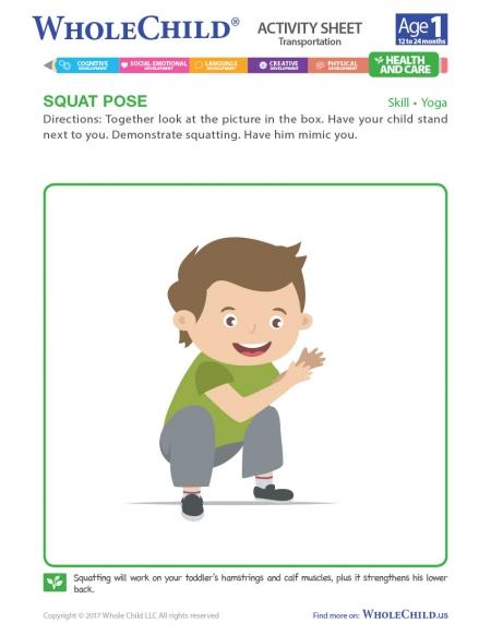 Squat Pose