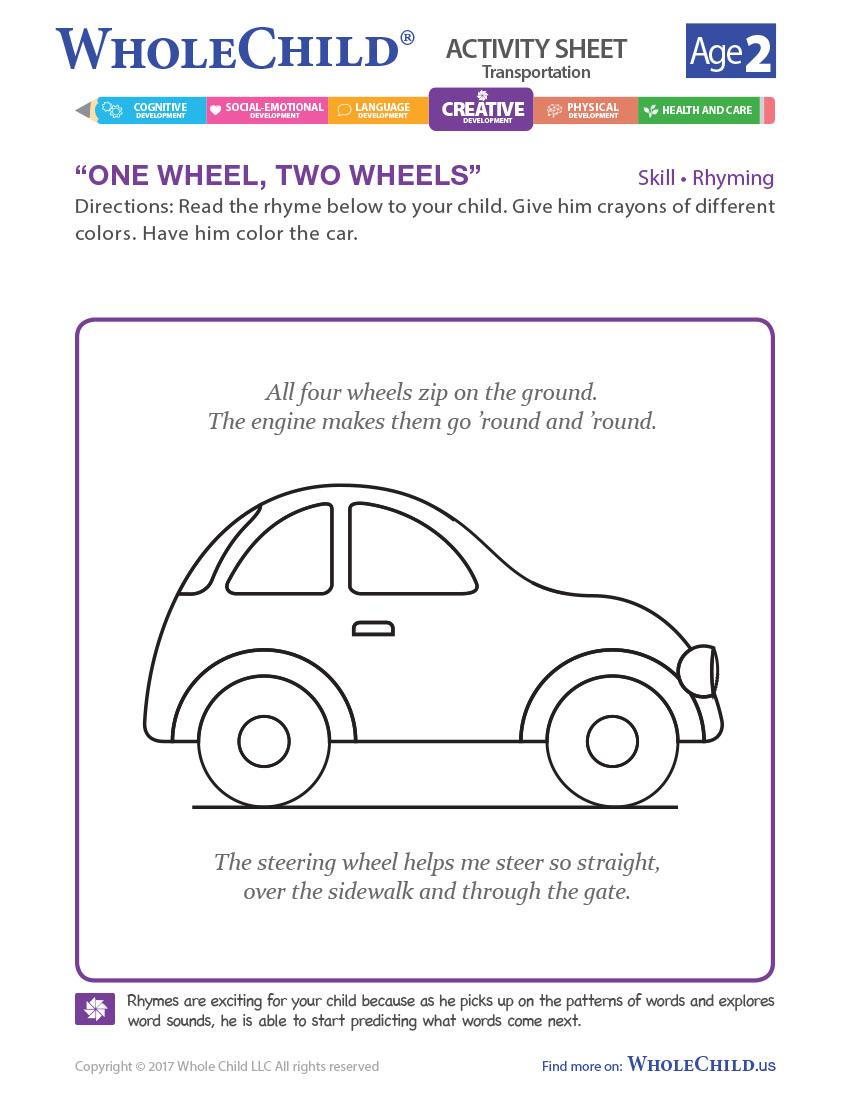 One Wheel, Two Wheels