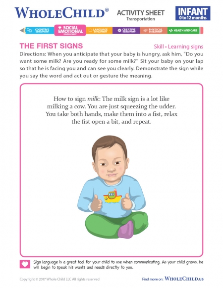 The First Signs