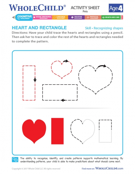 Heart And Rectangle