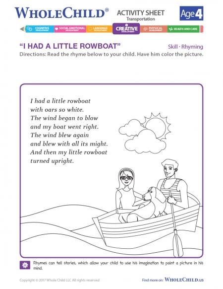 I Had A Little Rowboat