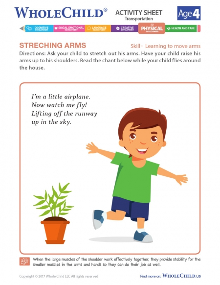 Stretching Arms