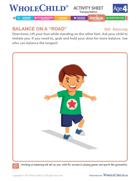 Balance On A Road
