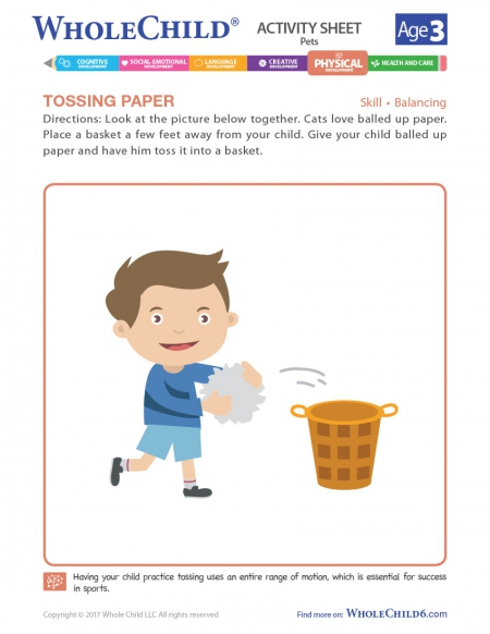 Tossing Paper
