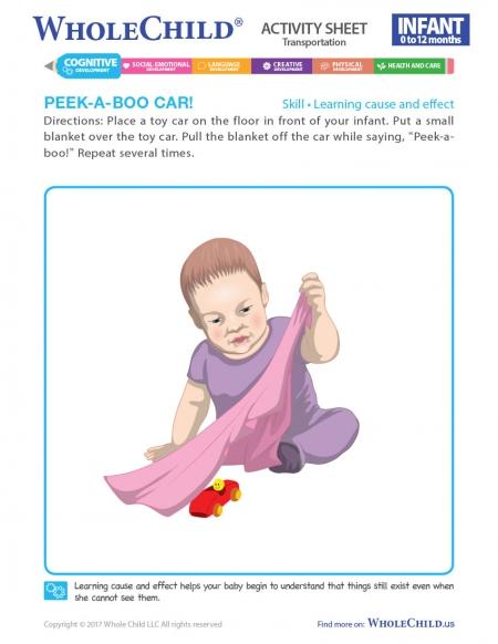 Peek-A-Boo Car