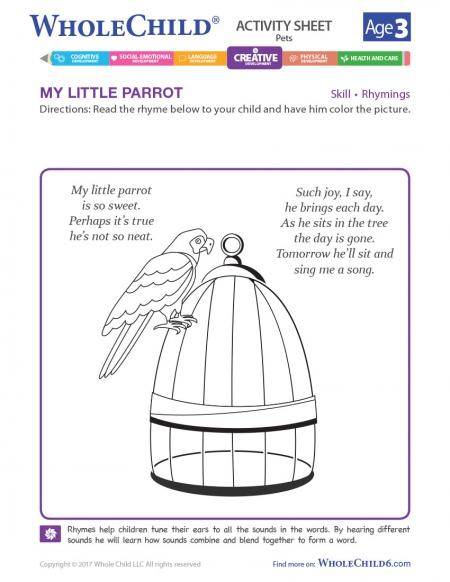 My Little Parrot