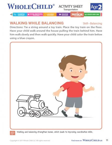 Walking While Balancing